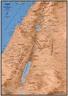 Maps / Geography of the Holy Land