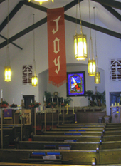 Interior of Sanctuary
